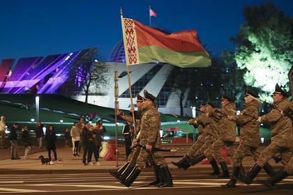 В Минске отменили репетицию парада Победы