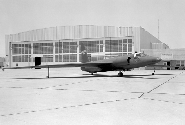 Американский самолет-разведчик U-2