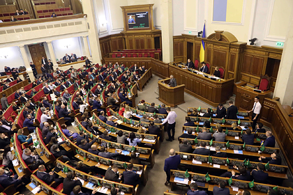 Верховная Рада призвала усилить международное давление на Россию