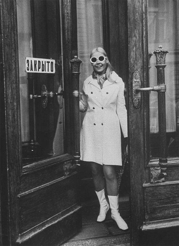 Мила Романовская в 1968 году. Фото из журнала Life