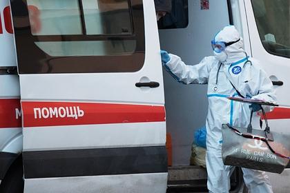 В России зафиксировали 7933 новых случая заражения коронавирусом