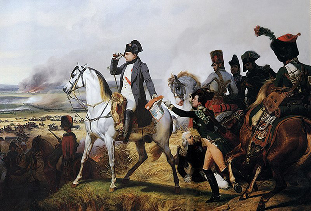 Наполеон под Ваграмом