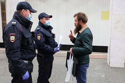 В московском метро начнут продавать маски