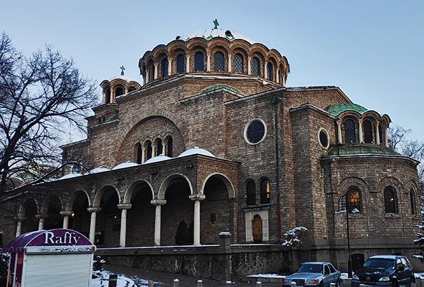 Храм-памятник Александра Невского в Софии