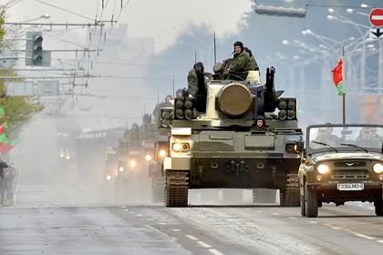 Парад Победы в Минске в 2015 году