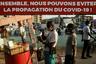 «Вместе мы можем остановить распространение COVID-19», — гласит плакат на улице столицы Кот-д'Ивуара. В бывшей французской колонии официально зафиксировано 1,5 тысячи случаев инфицирования и 18 смертей. В стране действует режим чрезвычайной ситуации.