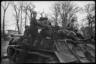 Советские танкисты в районе Тиргартена. Берлин, май 1945 года.
