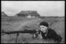 Партизанка Шура Павлова. Ленинградская область, 1941 год.