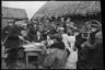 Собрание возрожденного после ухода немцев колхоза. Запорожская область, 1944 год.