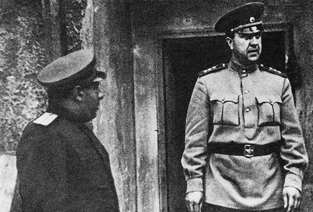 Начальник Главного управления контрразведки СМЕРШ Виктор Абакумов