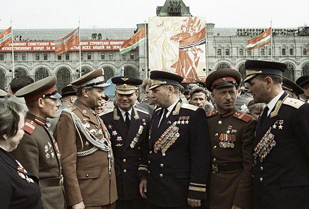 День Победы, 9 мая 1965 года