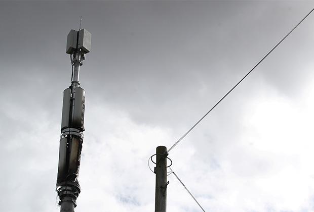 Вышка 5G в Великобритании