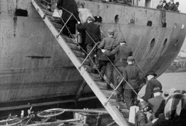 Эвакуация из Вентспилса, 19 октября 1944 года