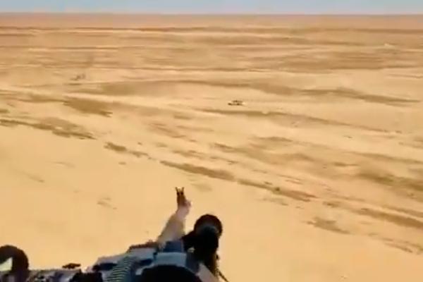 Расстрел машины «Исламского государства» с Ми-171 попал на видео