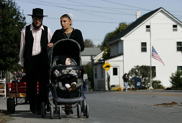 Семья амишей