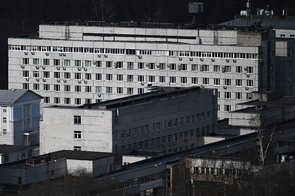В Москве загорелась больница для пациентов с коронавирусом