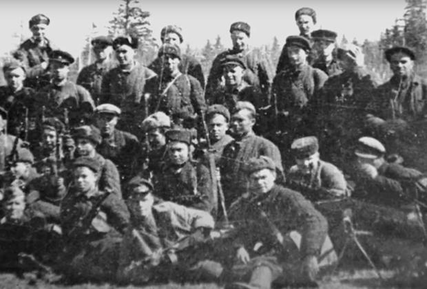 Один из пропавших в годы войны партизанских отрядов
