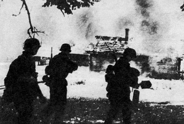 Хатынь, предположительно 22 марта 1943 года