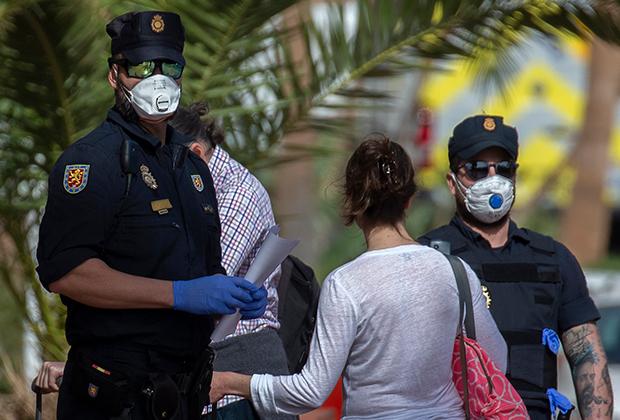 Полиция во время эпидемии коронавируса