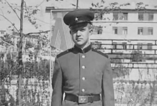 Виктор Мохов во время службы в армии