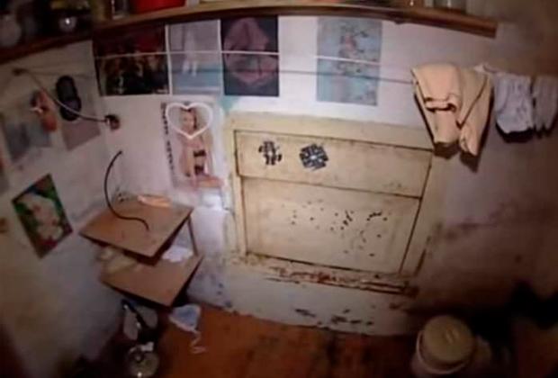 Бытовые условия в комнате, где жили девочки