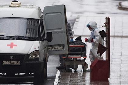 В Москве умерли 58 пациентов с коронавирусом