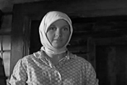 Умерла актриса из фильма «А зори здесь тихие»