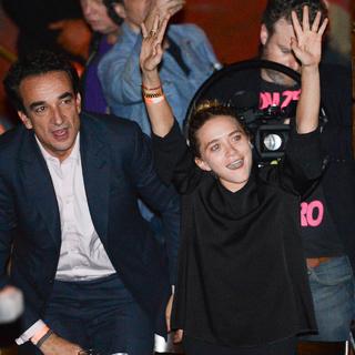 Оливер Саркози и Мэри-Кейт Олсен