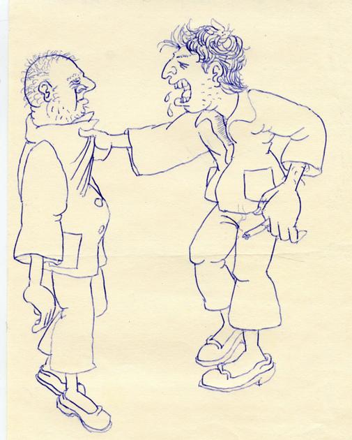 Тихие и буйные. Рисунок пациента ПБ N15