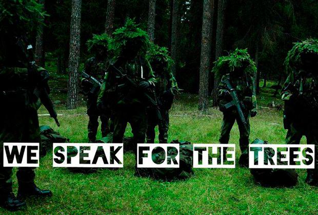 «Мы говорим от имени деревьев»