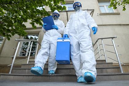 Опубликованы данные по заразившимся коронавирусом на утро 8 июля