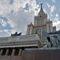 Главное здание Московского государственного университета (МГУ) имени Ломоносова