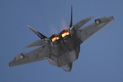 Истребитель F-22 разбился в США