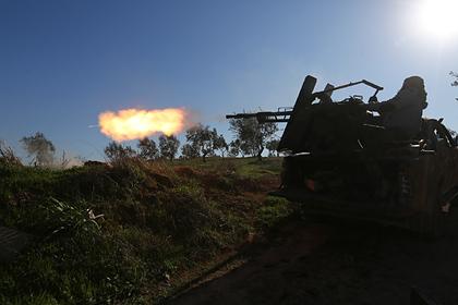 Войска Асада разбомбили деревни в Идлибе