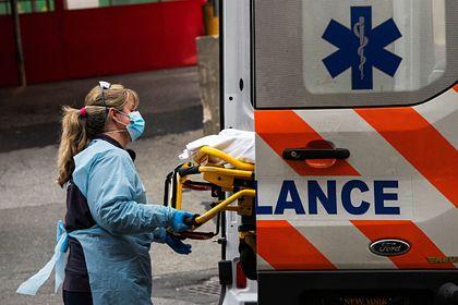 Работа скорой помощи в период распространения коронавируса в Нью-Йорке, США