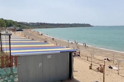 Начало курортного сезона в Крыму показали на видео