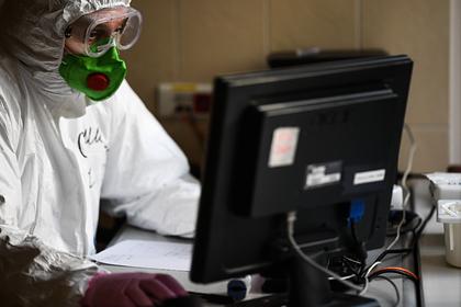 В России выявили вспышку коронавируса среди медиков