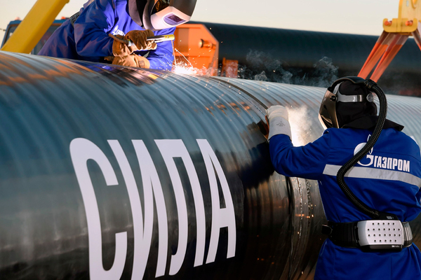 «Газпром» приступил к «Силе Сибири-2»