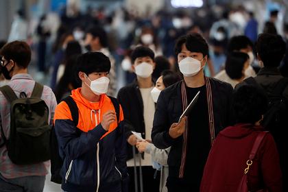 ВЮжной Кореи сообщили , что больные сповторным COVID-19