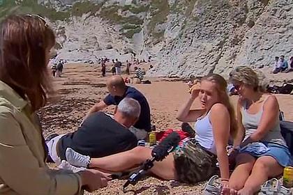 Туристка возмутилась переполненными пляжами и вызвала негодование в сети