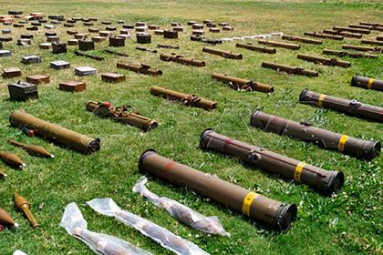 На севере Сирии обнаружили запасы американских и израильских ракет