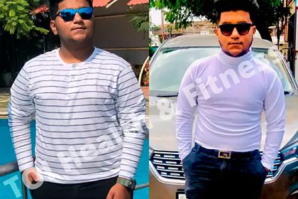 Мужчина сбросил 25 килограммов после разрыва с девушкой