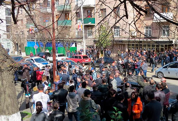 Митинг в Степанакерте