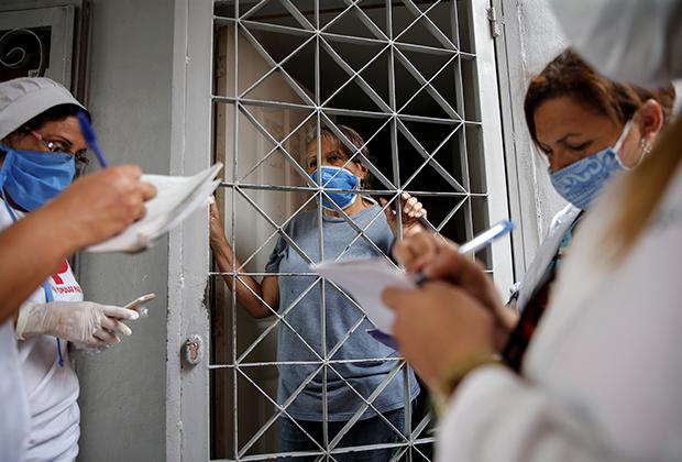 Работа кубинских и венесуэльских врачей в Каракасе