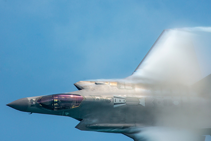 В США разбился истребитель F‑35