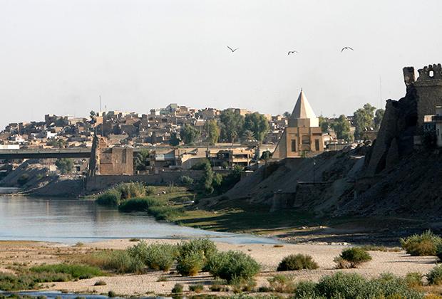 Вид на Мосул в октябре 2008 года