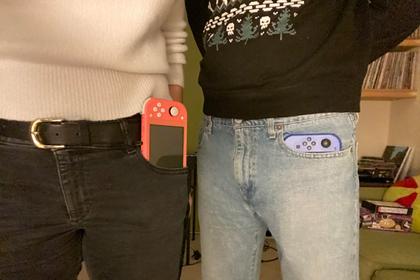 Разный размер карманов на мужских и женских джинсах вызвал споры в сети
