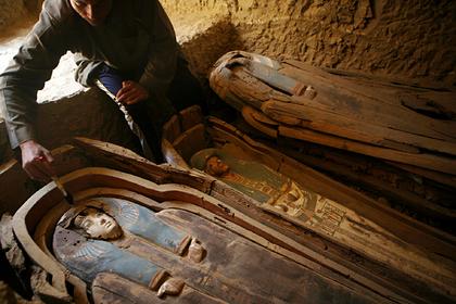 Ученые раскрыли секрет покрытия гробниц древнеегипетских мумий