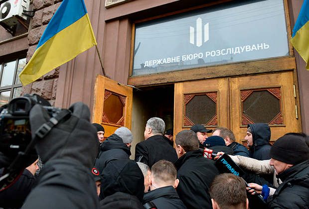 Экс-президент Украины Петр Порошенко прибыл на допрос в Государственное бюро расследований (ГБР) в Киеве