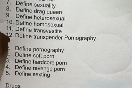 Школьникам пришлось посмотреть жесткое порно ради домашнего задания